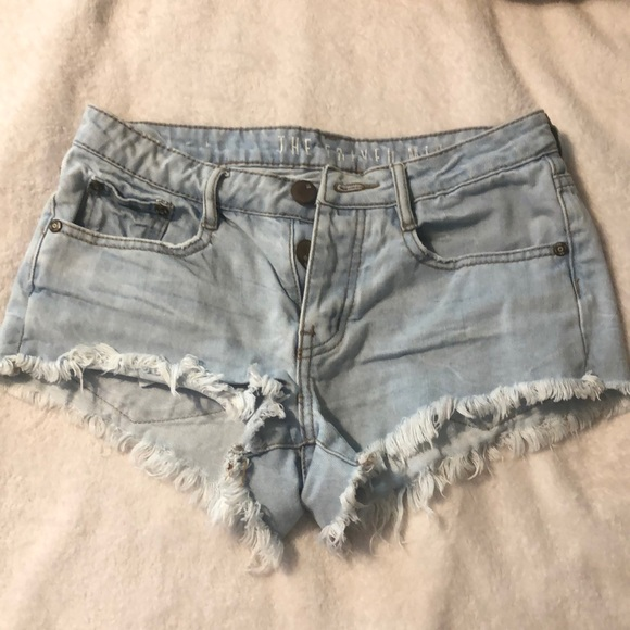Cotton On Pants - High Waisted Cotton On Jean Shorts